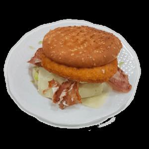 hamburguesa de pollo especial