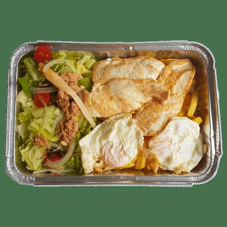 combinado de pollo