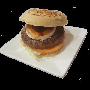 hamburguesa de buey cabrita