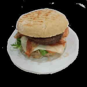 hamburguesa de buey especial