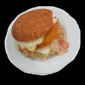 hamburguesa de pollo blanyo